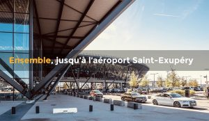 Entrée Aéroport de Lyon