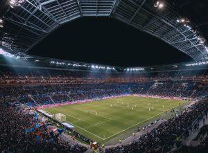 Groupama stadium de nuit