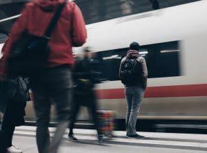 Gare à Lyon
